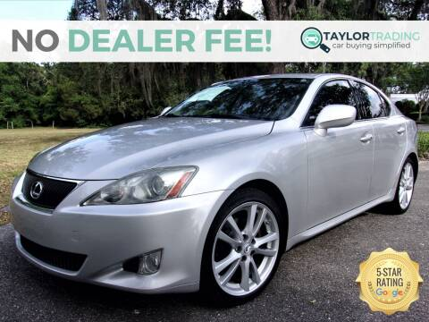 2006 Lexus IS 250 for sale at Taylor Trading in Orange Park FL
