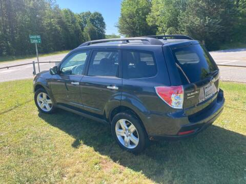 2010 Subaru Forester for sale at UpCountry Motors in Taylors SC