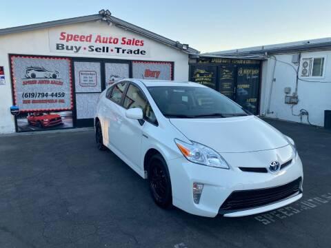 2015 Toyota Prius for sale at Speed Auto Sales in El Cajon CA