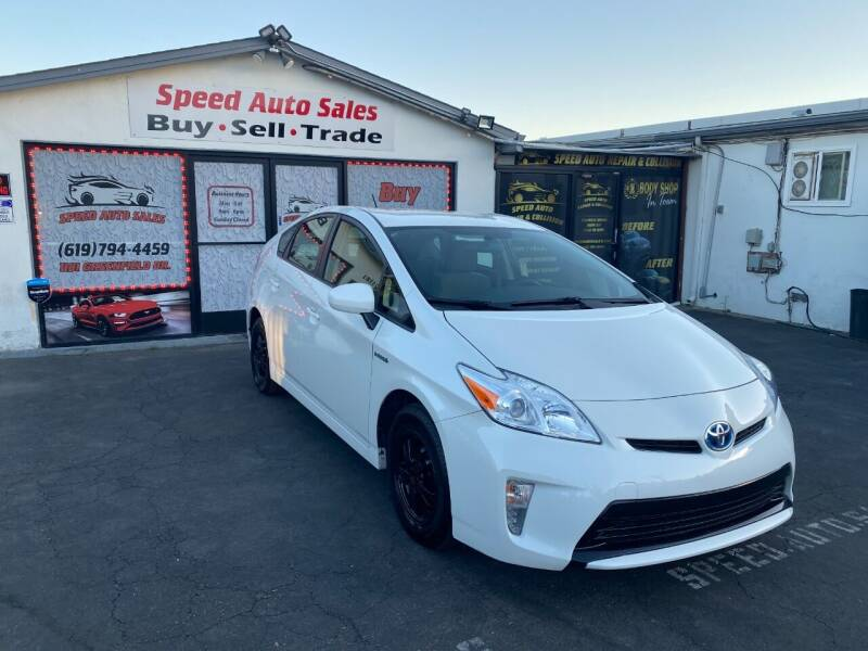 2015 Toyota Prius for sale at Speed Auto Sales in El Cajon CA