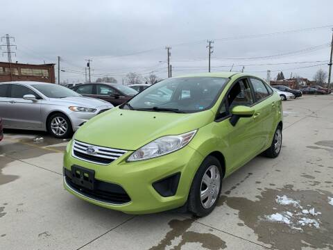 2012 Ford Fiesta for sale at Crooza in Dearborn MI