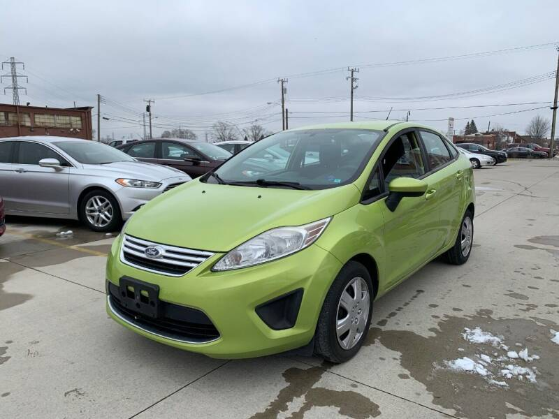 2012 Ford Fiesta for sale at Crooza in Dearborn MI