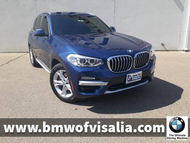 2019 BMW X3 for sale at BMW OF VISALIA in Visalia CA