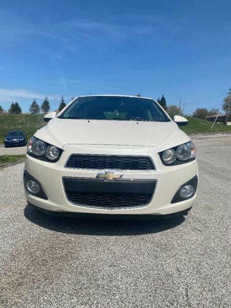 2013 Chevrolet Sonic for sale at VENTURE MOTORS in Wickliffe OH
