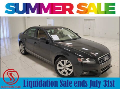 2010 Audi A4 for sale at Southern Star Automotive, Inc. in Duluth GA