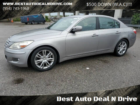 2011 Hyundai Genesis for sale at Best Auto Deal N Drive in Hollywood FL