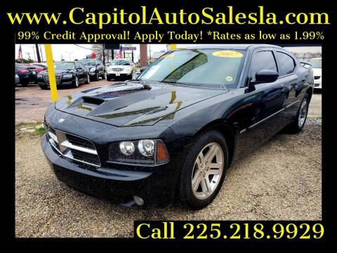 2007 Dodge Charger for sale at CAPITOL AUTO SALES LLC in Baton Rouge LA