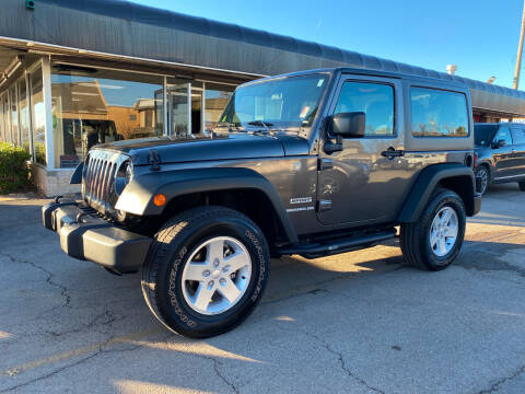 2017 Jeep Wrangler for sale at NORRIS AUTO SALES in Oklahoma City OK
