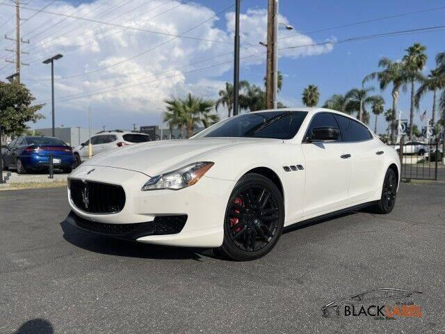 2015 Maserati Quattroporte for sale at BLACK LABEL AUTO FIRM in Riverside CA