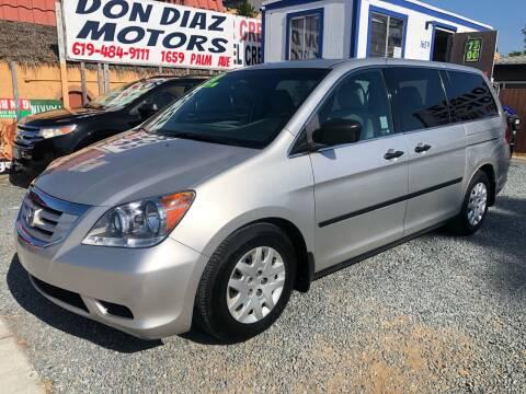 2008 Honda Odyssey for sale at DON DIAZ MOTORS in San Diego CA