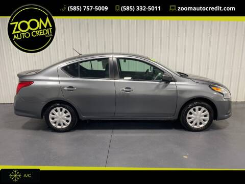 2019 Nissan Versa for sale at ZoomAutoCredit.com in Elba NY