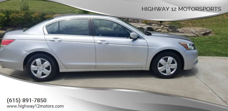 2011 Honda Accord for sale at HIGHWAY 12 MOTORSPORTS in Nashville TN