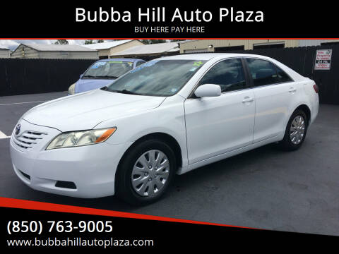 2007 Toyota Camry for sale at Bubba Hill Auto Plaza in Panama City FL