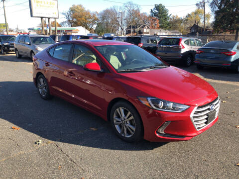 2017 Hyundai Elantra for sale at Chris Auto Sales in Springfield MA