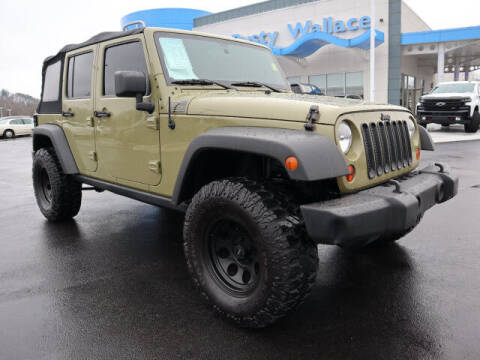 2013 Jeep Wrangler Unlimited for sale at RUSTY WALLACE HONDA in Knoxville TN