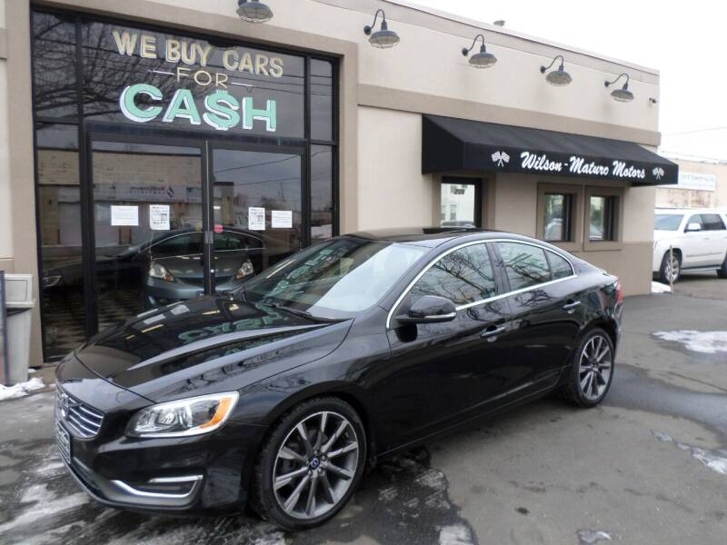 2015 Volvo S60 for sale at Wilson-Maturo Motors in New Haven Ct CT