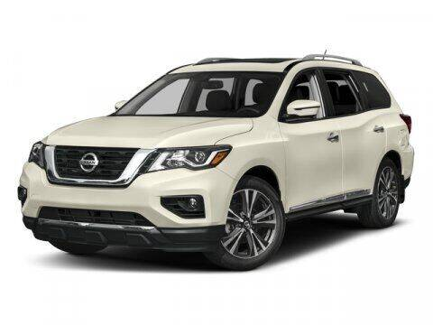 2017 Nissan Pathfinder for sale at J T Auto Group in Sanford NC