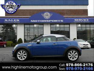 2013 MINI Coupe for sale at Highline Group Motorsports in Lowell MA