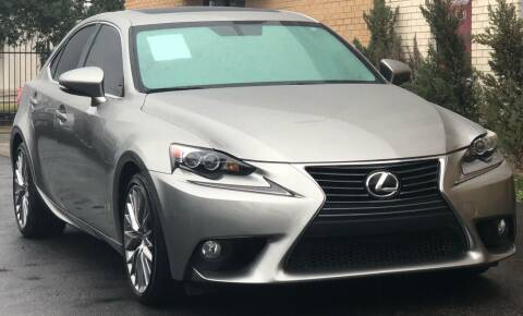 2014 Lexus IS 250 for sale at Auto Imports in Houston TX