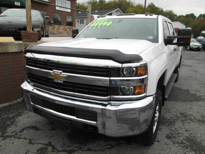 2015 Chevrolet Silverado 2500HD for sale at WORKMAN AUTO INC in Pleasant Gap PA