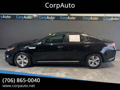 2015 Kia Optima Hybrid for sale at CorpAuto in Cleveland GA