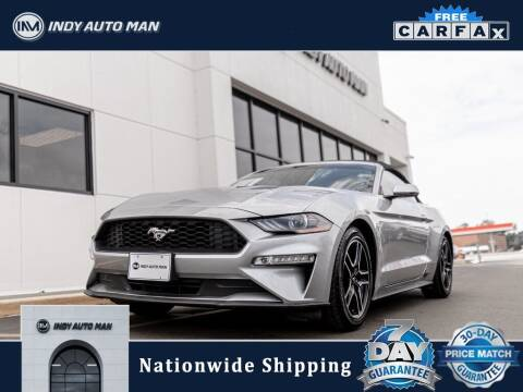 2020 Ford Mustang for sale at INDY AUTO MAN in Indianapolis IN