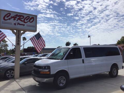 2007 Chevrolet Express Passenger for sale at CARCO SALES & FINANCE - CARCO OF POWAY in Poway CA