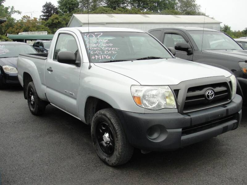 2007 Toyota Tacoma for sale at Turnpike Auto Sales LLC in East Springfield NY