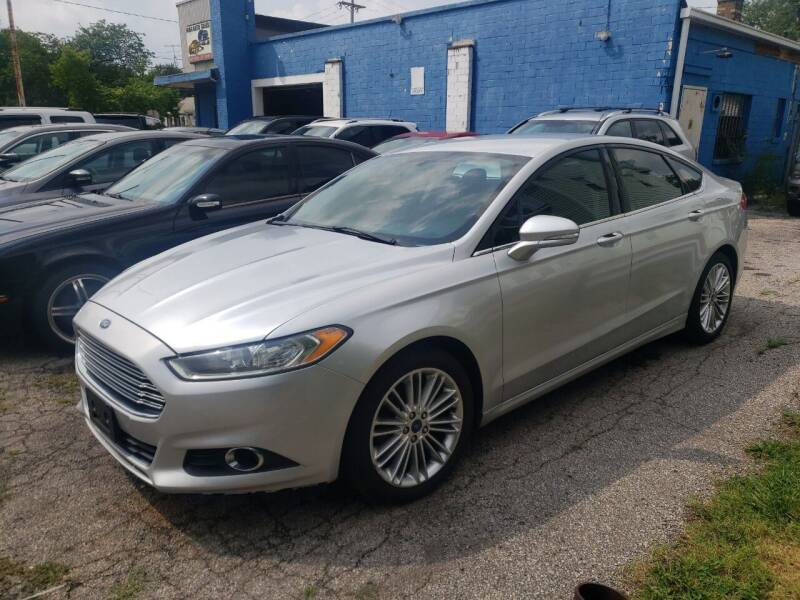 2013 Ford Fusion for sale at M & C Auto Sales in Toledo OH