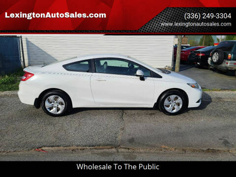2013 Honda Civic for sale at LexingtonAutoSales.com in Lexington NC