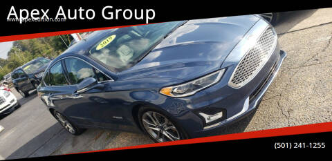 2019 Ford Fusion Hybrid for sale at Apex Auto Group in Cabot AR