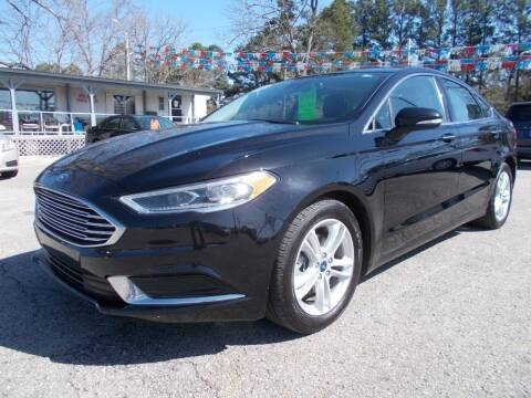 2018 Ford Fusion for sale at Culpepper Auto Sales in Cullman AL