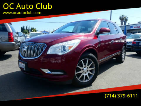 2015 Buick Enclave for sale at OC Auto Club in Midway City CA