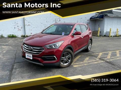 2017 Hyundai Santa Fe Sport for sale at Santa Motors Inc in Rochester NY