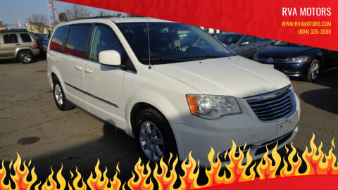 2012 Chrysler Town and Country for sale at RVA MOTORS in Richmond VA