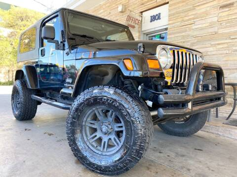2005 Jeep Wrangler for sale at Hi-Tech Automotive - Congress in Austin TX