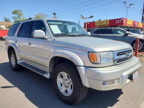 2000 Toyota 4Runner for sale at CARCO SALES & FINANCE #3 in Chula Vista CA