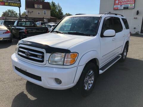 2003 Toyota Sequoia for sale at MAGIC AUTO SALES in Little Ferry NJ