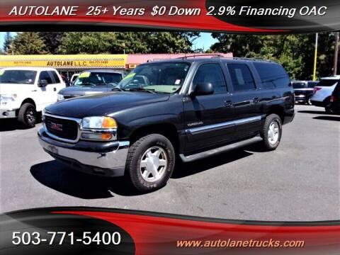 2004 GMC Yukon XL for sale at Auto Lane in Portland OR