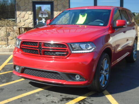 2017 Dodge Durango for sale at Rogos Auto Sales in Brockway PA