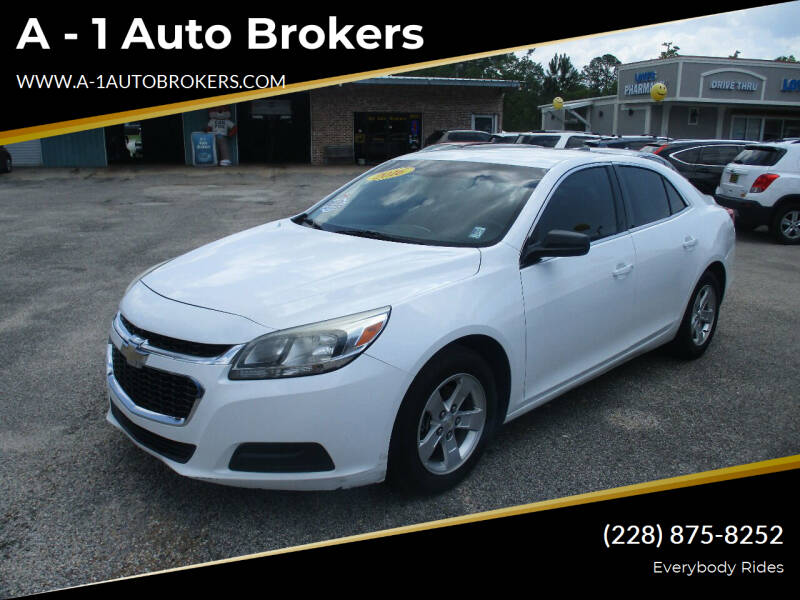 2016 Chevrolet Malibu Limited for sale at A - 1 Auto Brokers in Ocean Springs MS