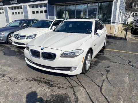2012 BMW 5 Series for sale at CLASSIC MOTOR CARS in West Allis WI