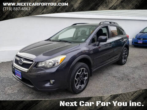 2014 Subaru XV Crosstrek for sale at Next Car For You inc. in Brooklyn NY
