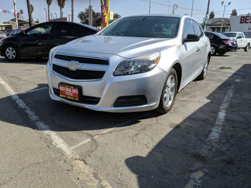 2013 Chevrolet Malibu for sale at Best Deal Auto Sales in Stockton CA
