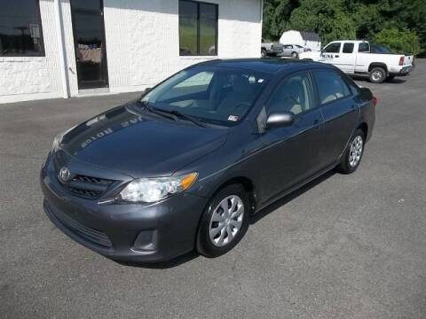 2011 Toyota Corolla for sale at MINK MOTOR SALES INC in Galax VA