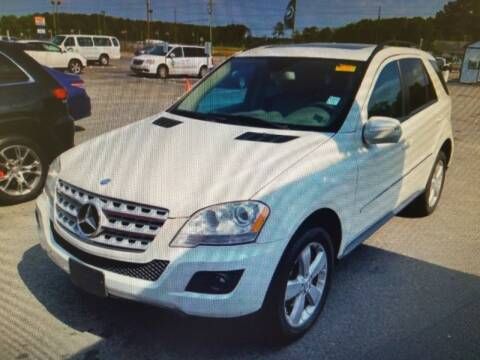 2009 Mercedes-Benz M-Class for sale at Rocky Mount Motors in Battleboro NC