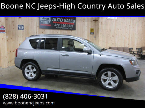 2014 Jeep Compass for sale at Boone NC Jeeps-High Country Auto Sales in Boone NC