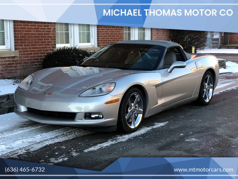 2007 Chevrolet Corvette for sale at Michael Thomas Motor Co in Saint Charles MO