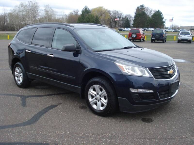 2015 Chevrolet Traverse for sale at North Star Auto Mall in Isanti MN