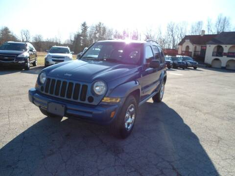 2005 Jeep Liberty for sale at Route 111 Auto Sales in Hampstead NH